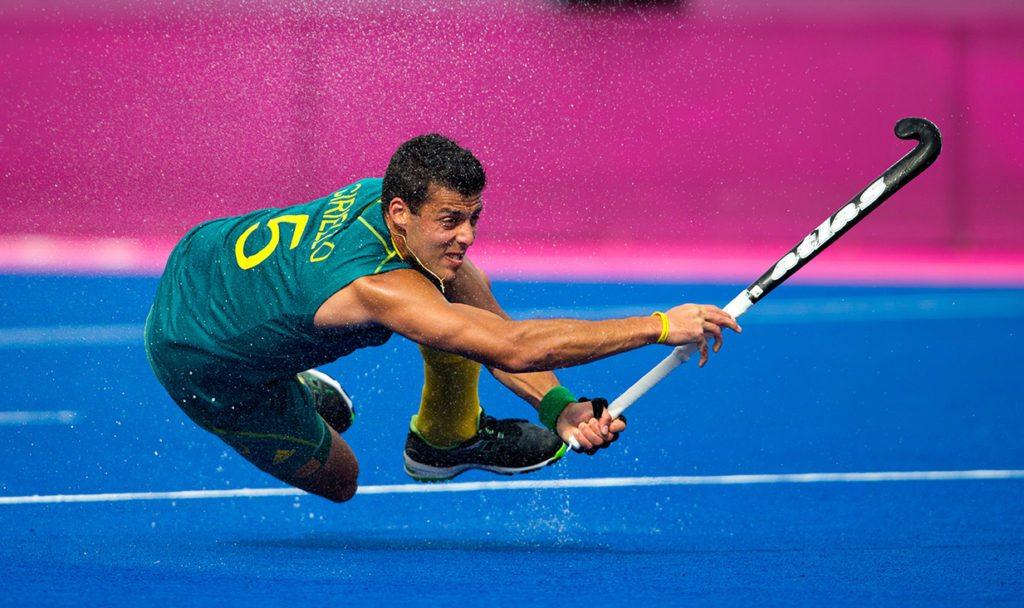 London Olympics 11/08/2012.Mens Hockey Bronze medal Match.Australia v Great Britain.Chris Ciriello...Photo: Grant Treeby