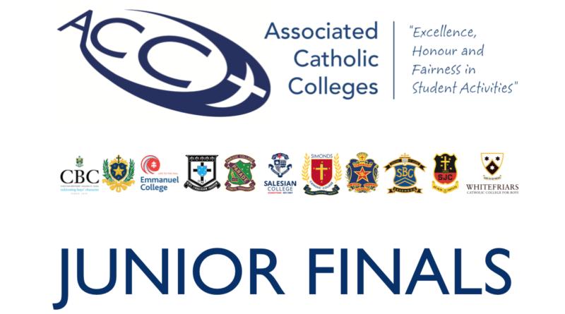 Junior Finals Schedule