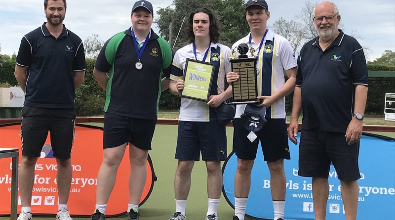 St Joseph's FTG No. 1 School Bowls Team in Victoria