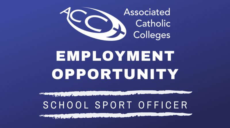 Employment Opportunity – School Sport Officer