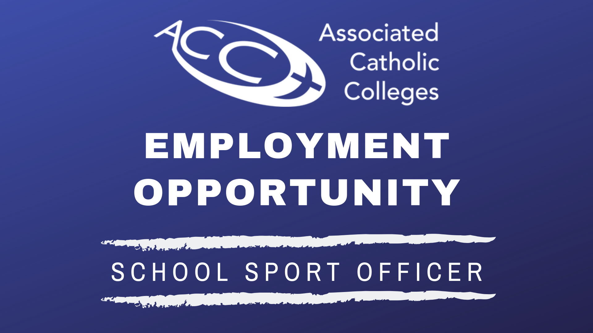 Employment Opportunity - School Sport Officer