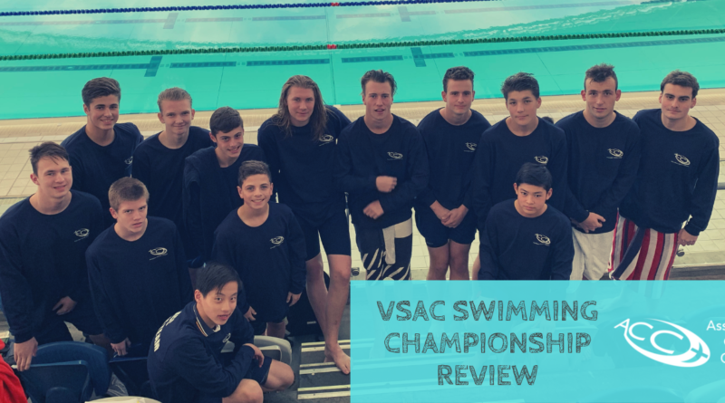 VSAC SWIMMING CHAMPIONSHIP REVIEW